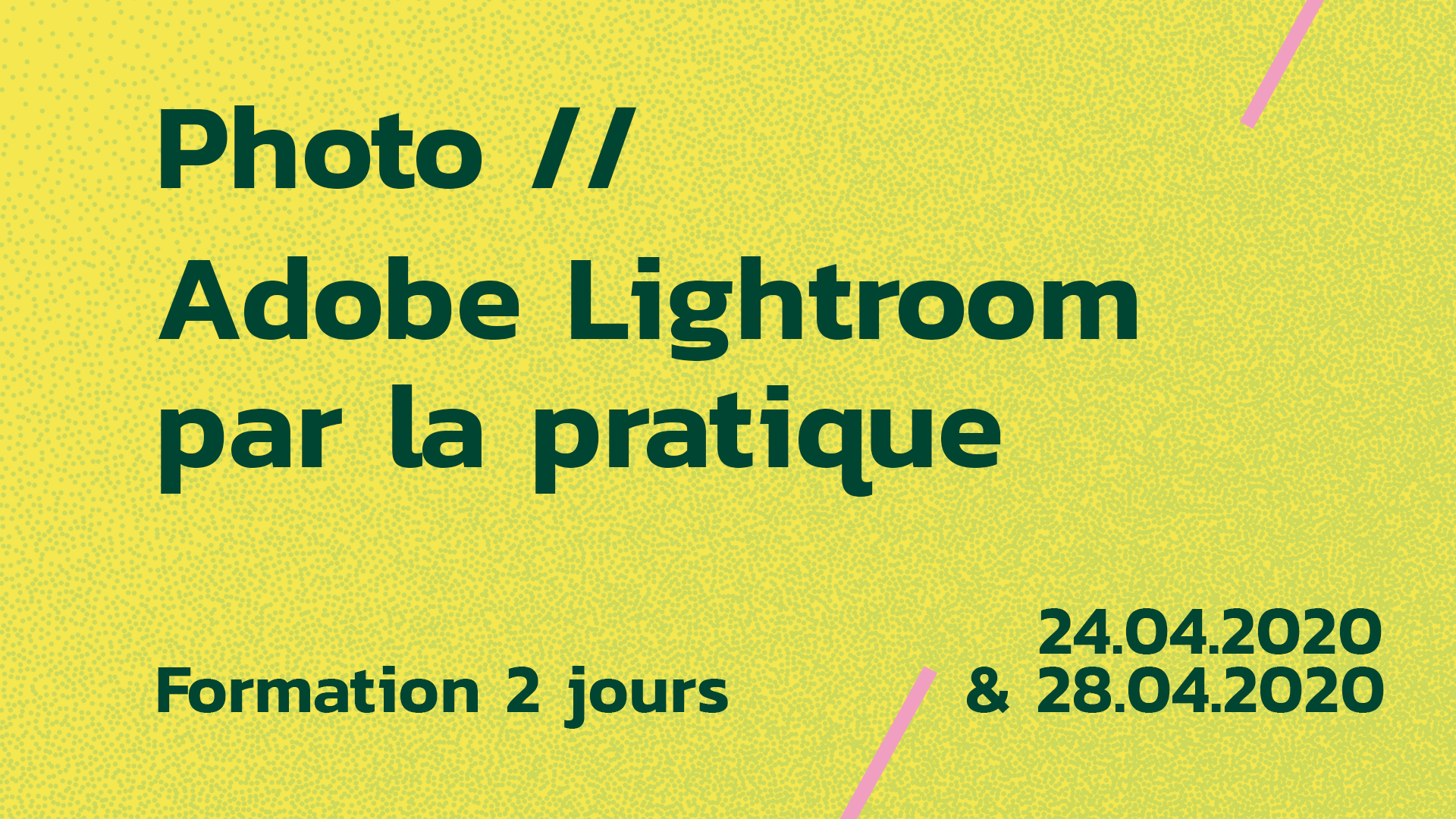 Formation Adobe Lightroom